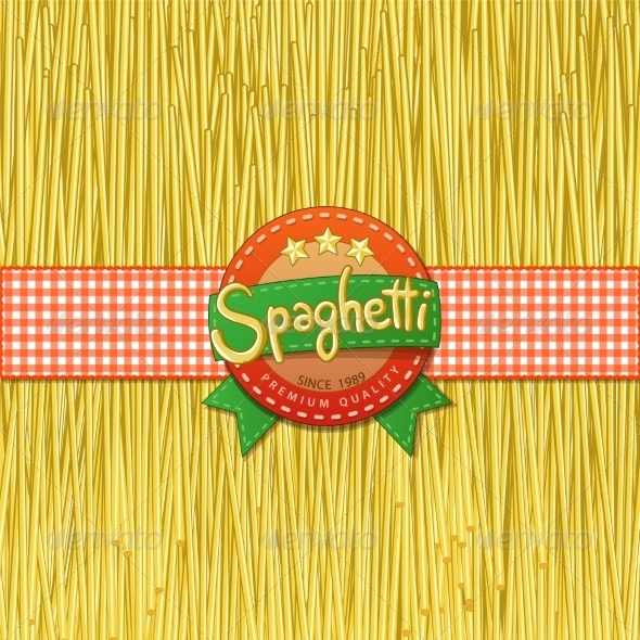 GraphicRiver Drawn Spaghetti and Labels 7542695