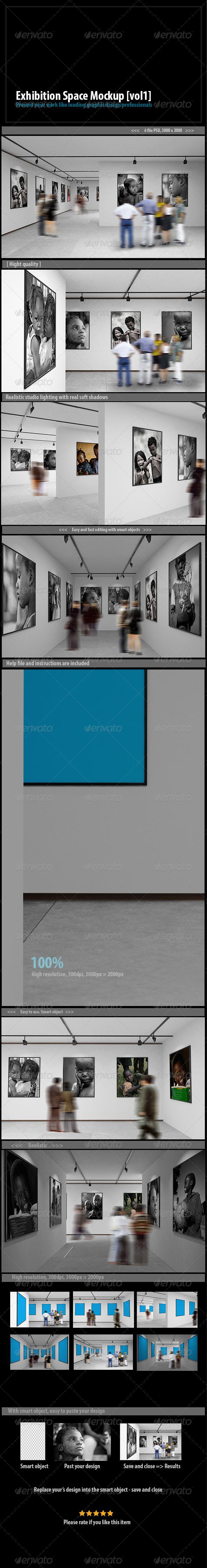 GraphicRiver Exhibition Space Mockup [vol1] 7543129