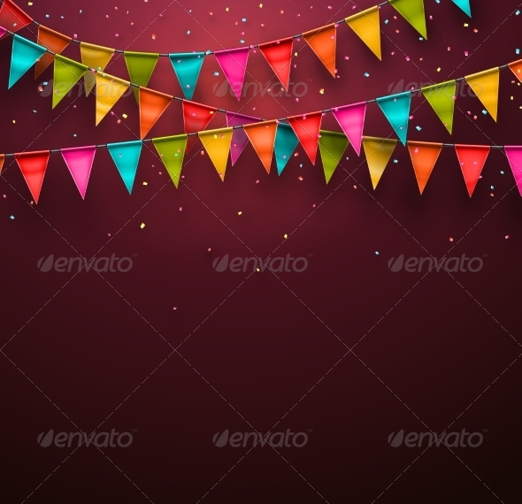 GraphicRiver Festive Background 7543357