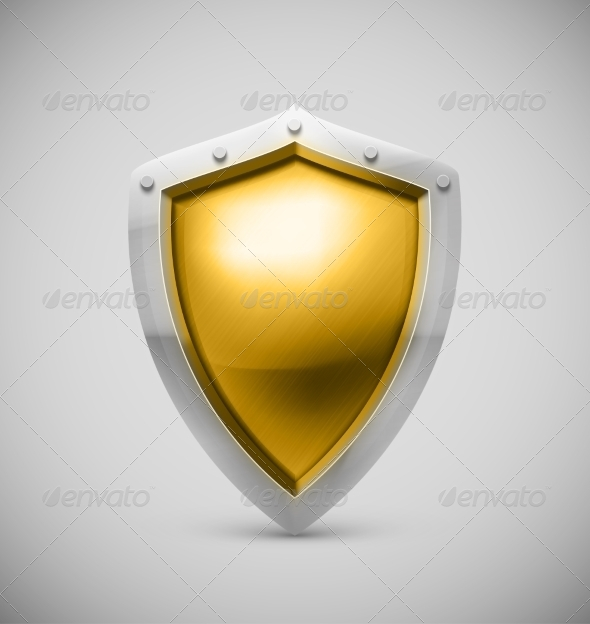 GraphicRiver Isolated Shield 7543378