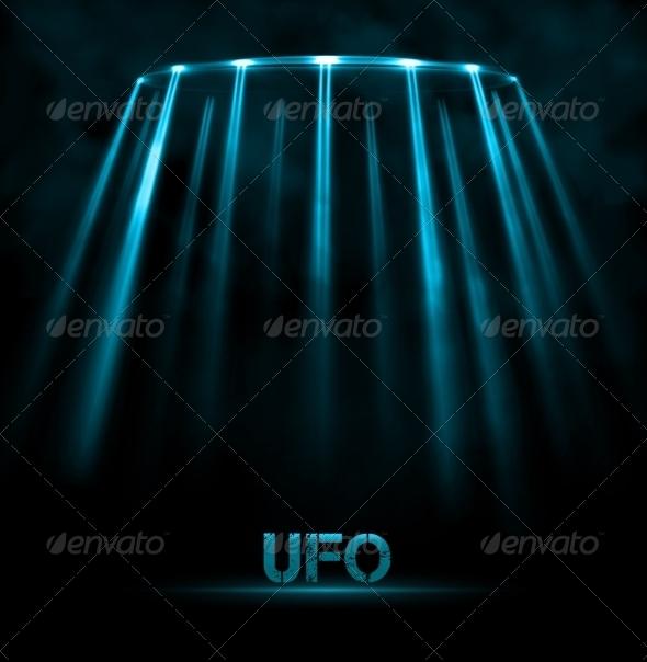 GraphicRiver UFO Background 7543398