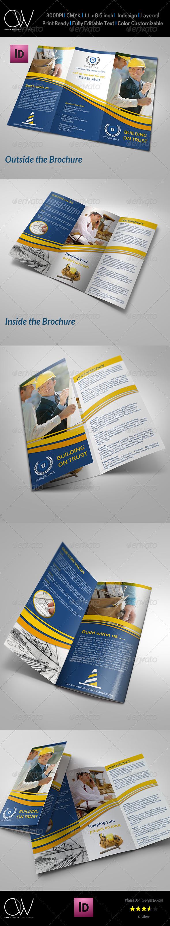 GraphicRiver Construction Company Brochure Tri-Fold Vol.2 7543401