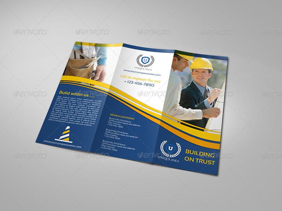 construction company flyer templates
