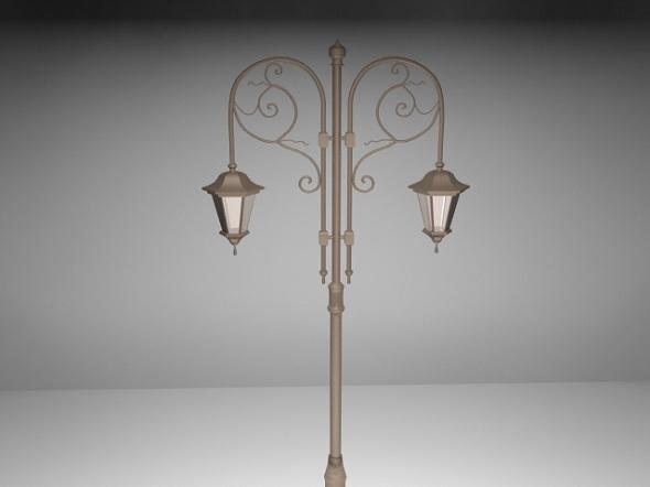 3DOcean Street lamp 7514312