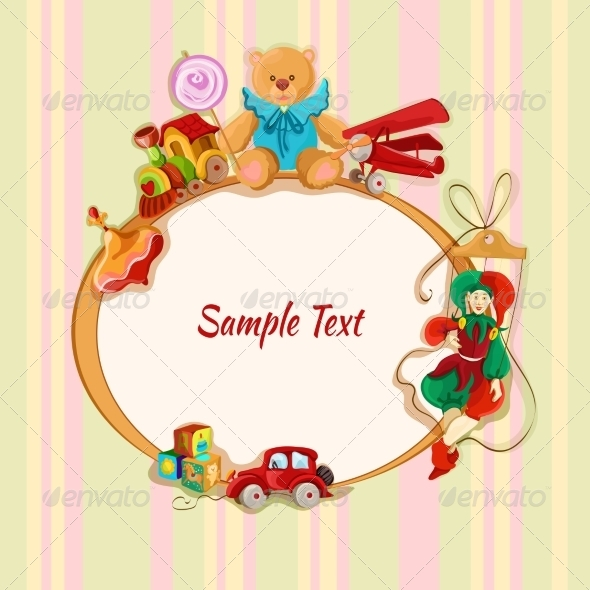 GraphicRiver Toys Background 7544836