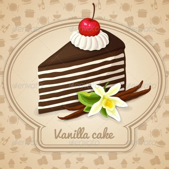 GraphicRiver Vanilla Layered Cake 7545216
