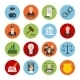 Law Flat Icons - GraphicRiver Item for Sale
