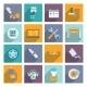 Auto Service Icon Flat - GraphicRiver Item for Sale