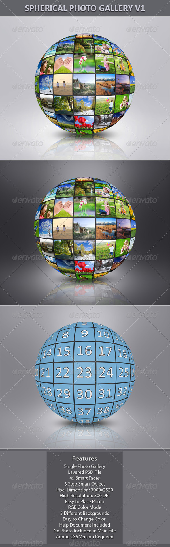 GraphicRiver Spherical Photo Gallery V1 7546000