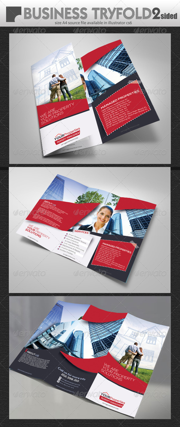 GraphicRiver Property TriFold Brochure 7546274