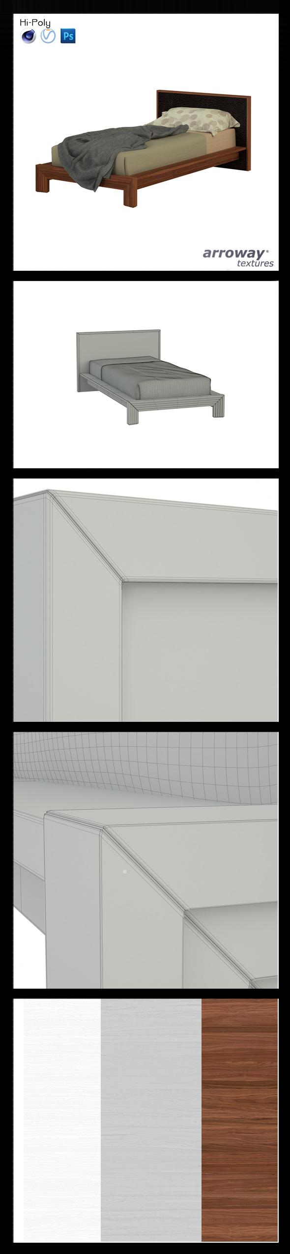 3DOcean Triant Brown 702 Hi-Poly 7546322