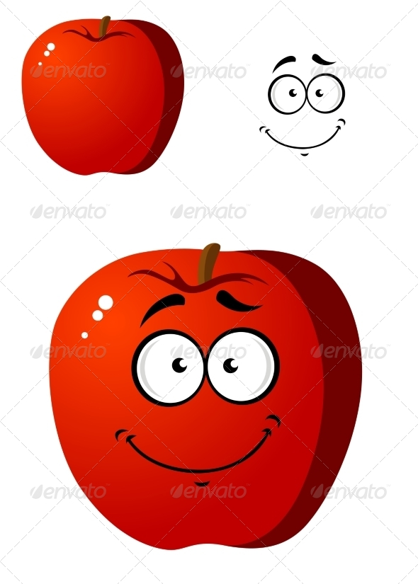 GraphicRiver Apple Cartoon 7546742