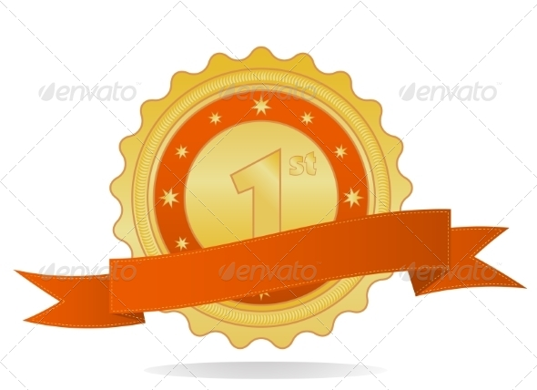 GraphicRiver Golden Badge 7546751