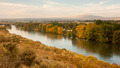 Storm Clearing Over Agricultural Land Yakima River Central Washington - PhotoDune Item for Sale
