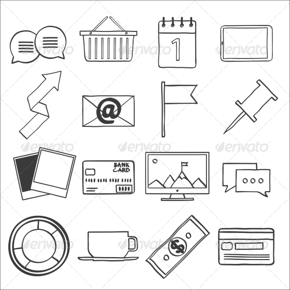 GraphicRiver Web Design Icons 7546788