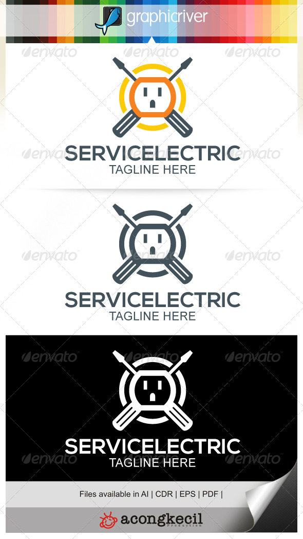 GraphicRiver Service Electric 7546925