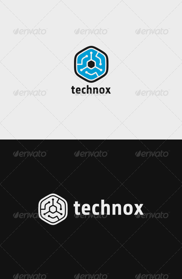 GraphicRiver Technox Logo 7546938