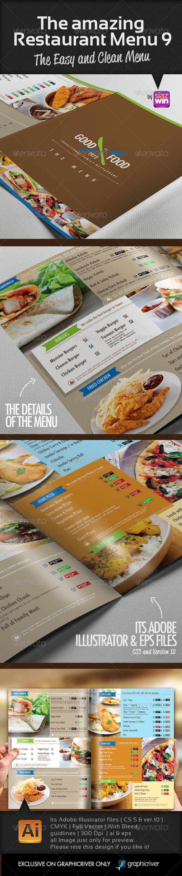GraphicRiver The Amazing Restaurant Menu 9 7547310