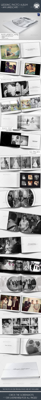 GraphicRiver Wedding Photo Album A4 Landscape 7547697