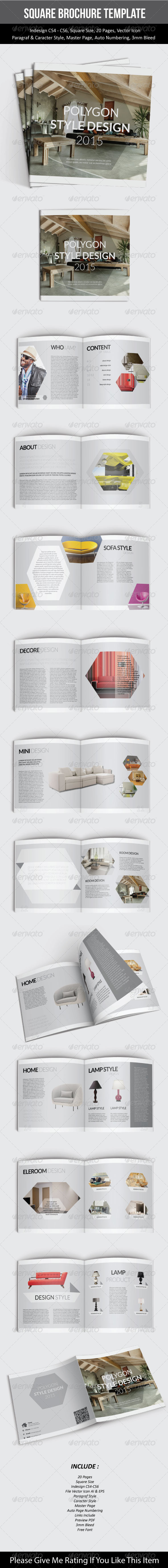 GraphicRiver Square Brochure Template 7547698