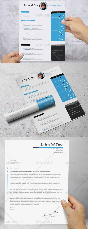 GraphicRiver Simple Resume CV 7547876