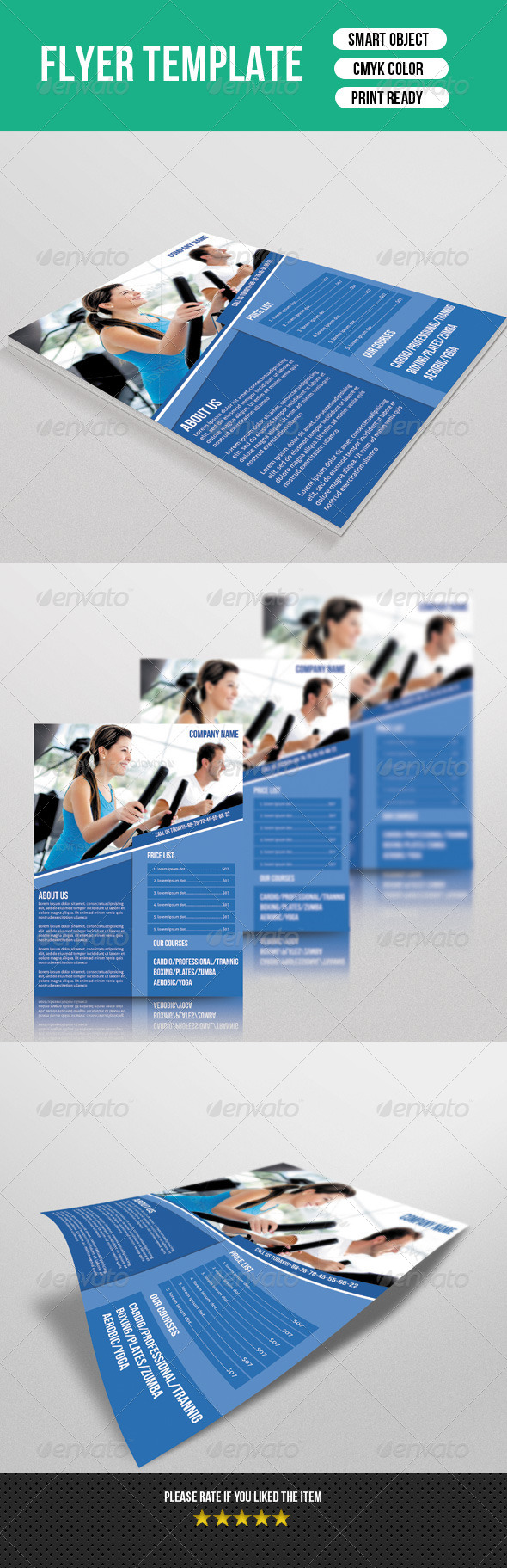 GraphicRiver Fitness Flyer 7547883
