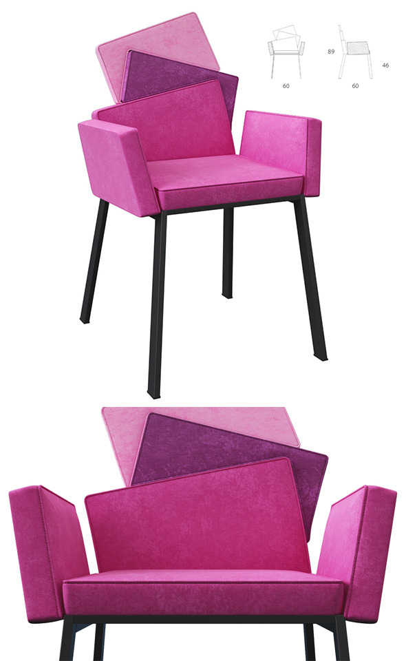 3DOcean Chair Karina Design Andrea Lucatello 7547905