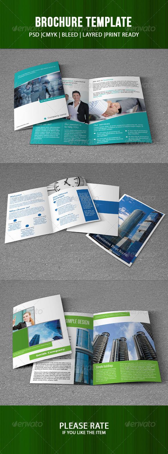 GraphicRiver Business Brochure Bundle 7547953