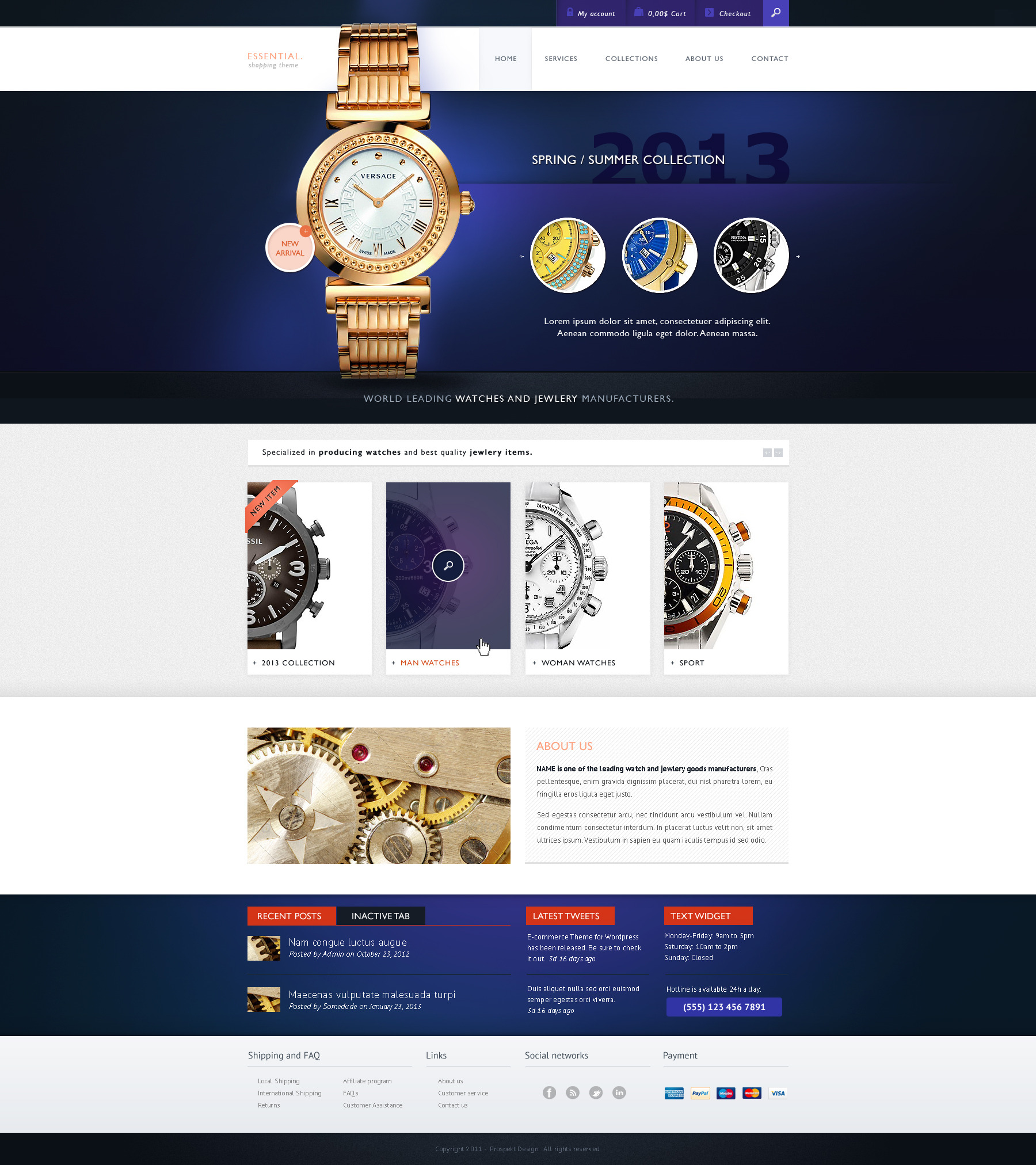 Essential - Responsive, Retina, WooCommerce Shopping and Auction Theme