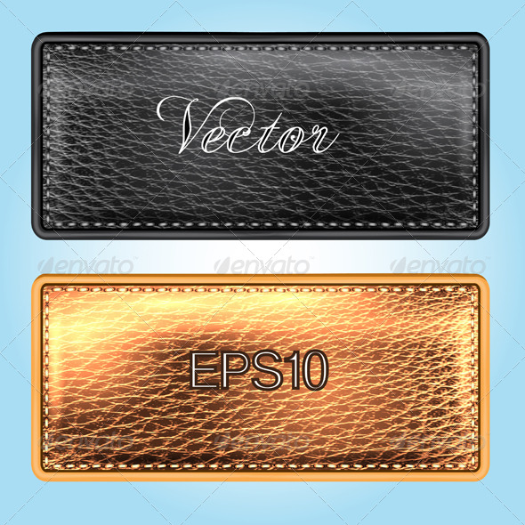 GraphicRiver Leather Labels 7548647