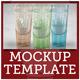Logo Mockup on Translucent Glass Object - GraphicRiver Item for Sale