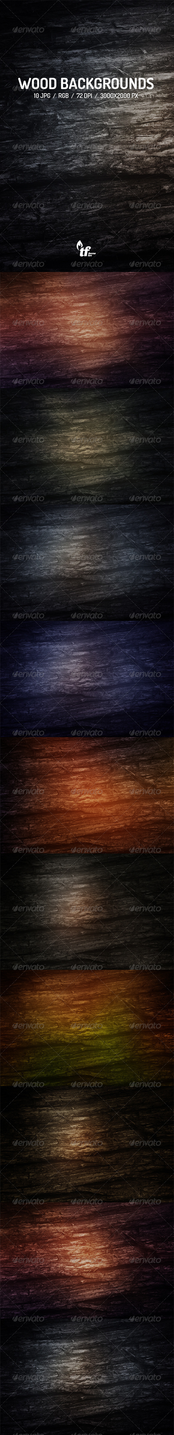 GraphicRiver Wood Backgrounds 7549077