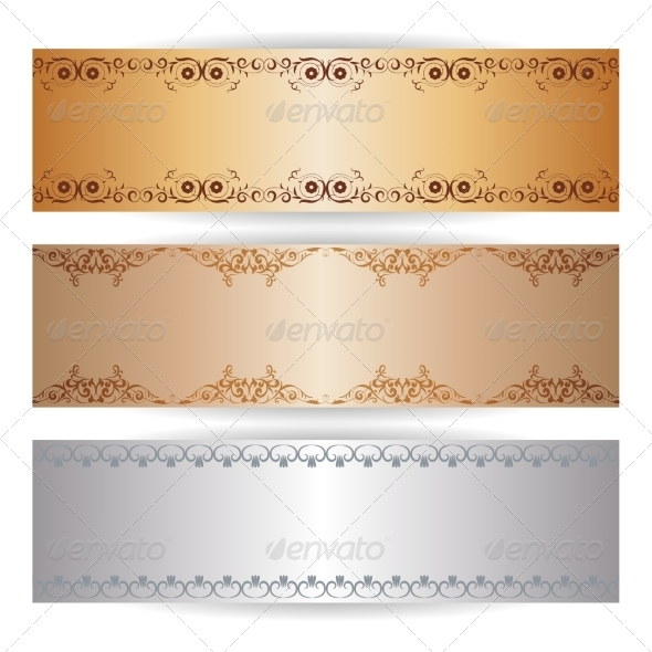 GraphicRiver Decorative Banner with Graphic Ornaments 7549168