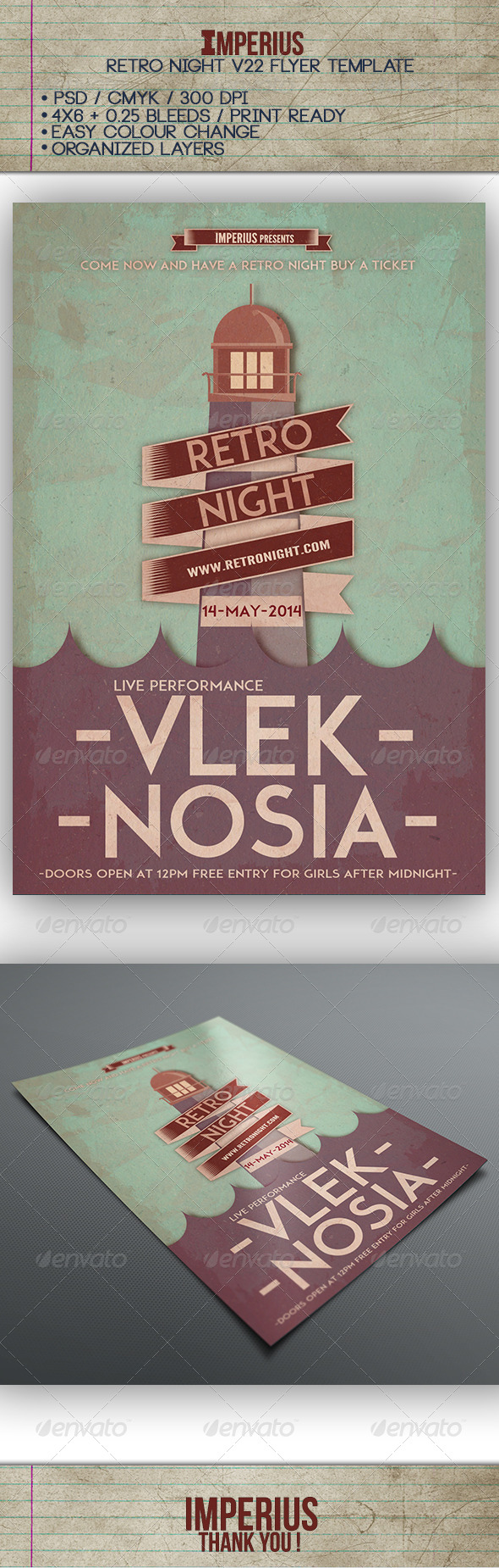 GraphicRiver Retro Night V22 7549240