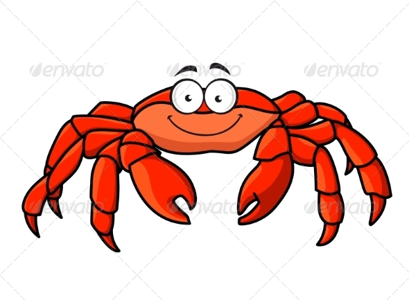 GraphicRiver Red Marine Crab 7549634