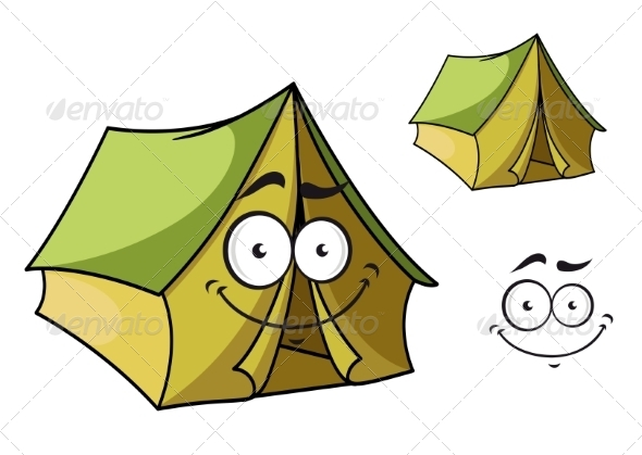 GraphicRiver Cartoon Tent 7549638