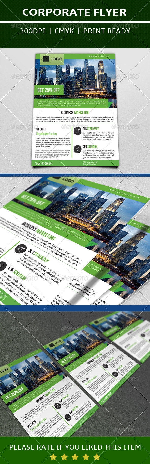 GraphicRiver Business Marketing Flyer 7549664