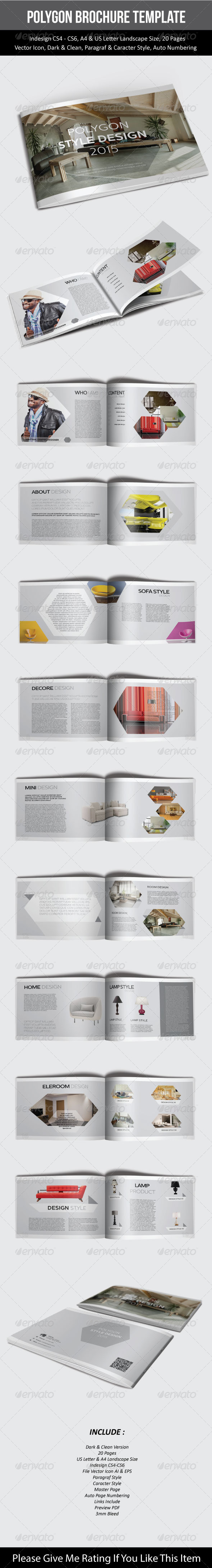 GraphicRiver Polygon Brochure Template 7531881
