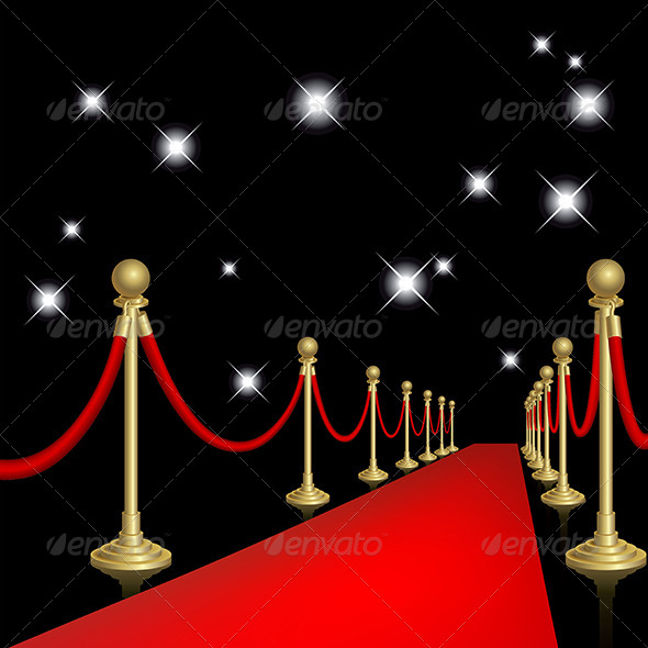 Download Free Birthday Red Carpet Psd Template ...