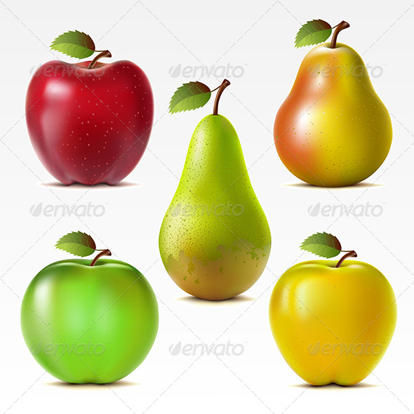 GraphicRiver Set of Fruits 7550497