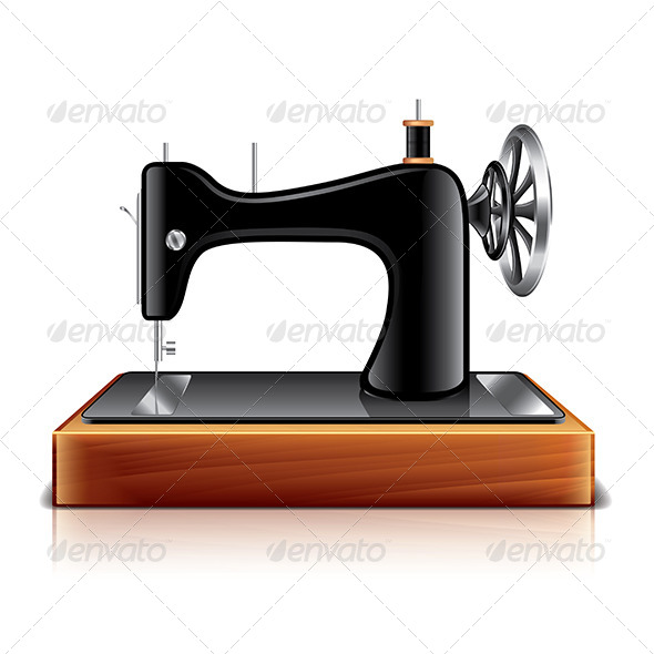 GraphicRiver Sewing Machine 7550547