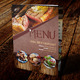 Restaurant Menu A4 Vol 4 - GraphicRiver Item for Sale
