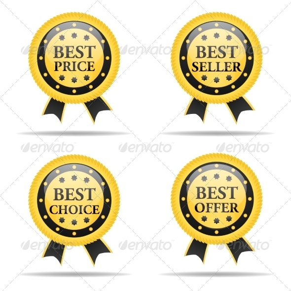 GraphicRiver Set of Commercial Badges 7550930