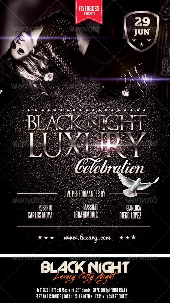 GraphicRiver Black Night Luxury 7551012