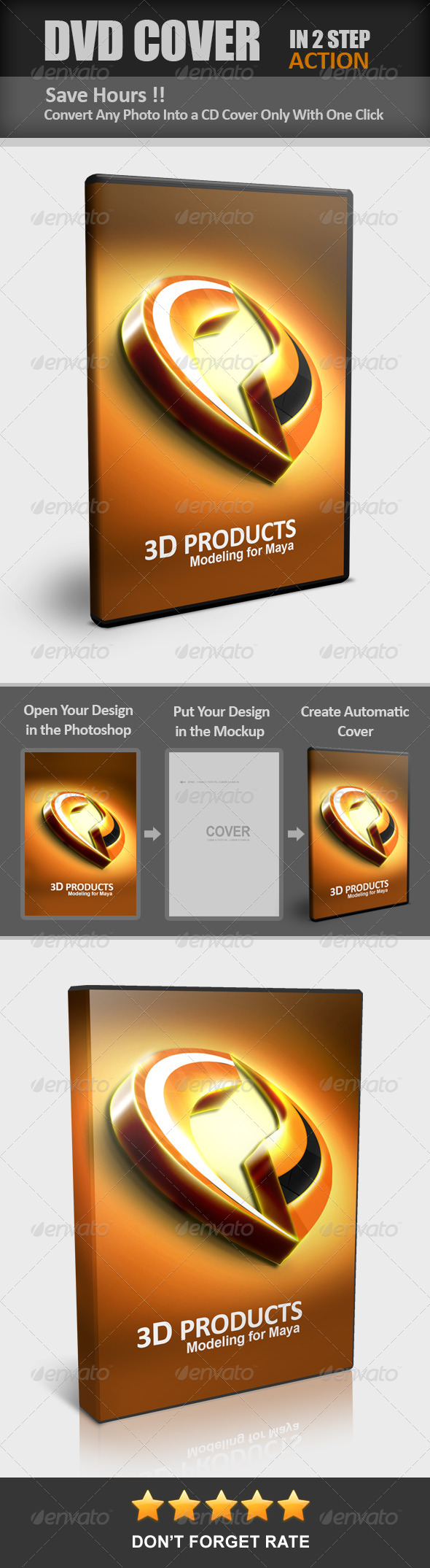 GraphicRiver DVD CD Cover Maker Action 7551058