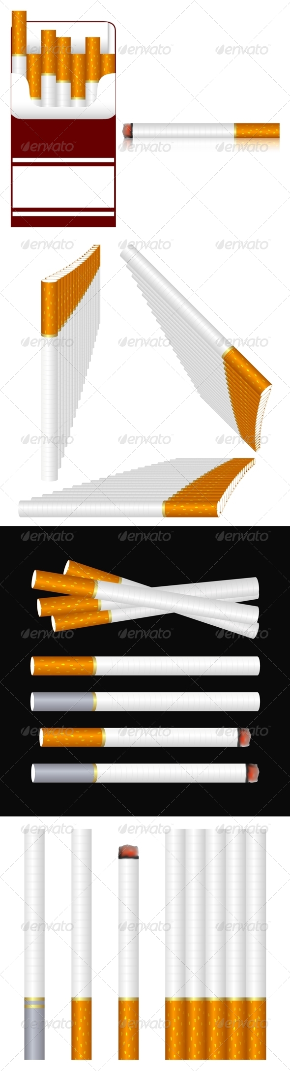 GraphicRiver Cigarettes 7551211