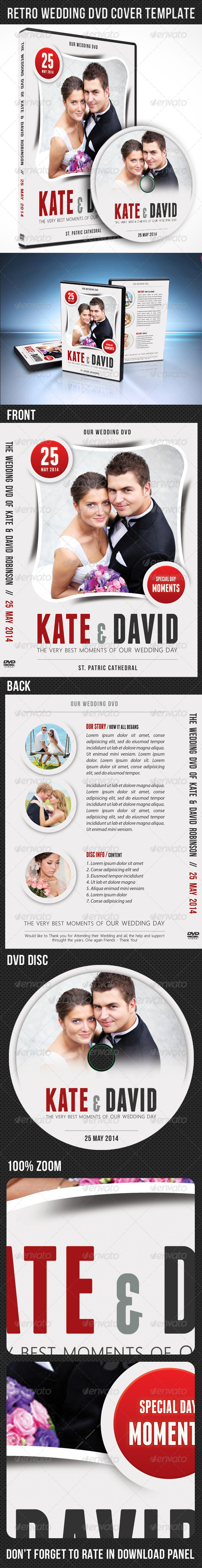 GraphicRiver Wedding DVD Cover Template 02 7551841