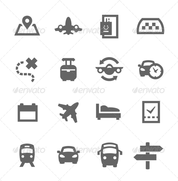 GraphicRiver Travel Icons 7553008