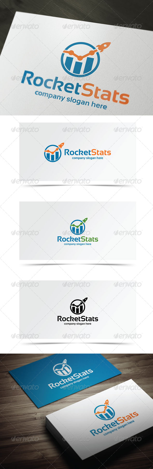 GraphicRiver Rocket Stats 7553926