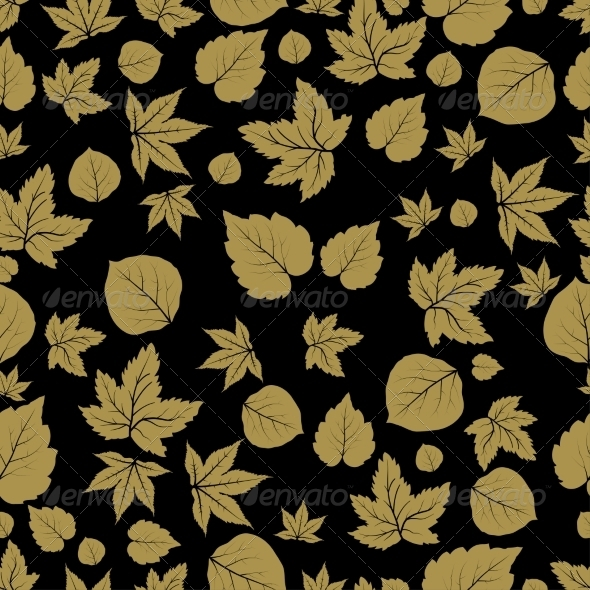 GraphicRiver Leaves Seamless Pattern 7554878